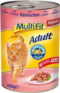 MultiFit nyúl ragu – cicakonzerv 400g