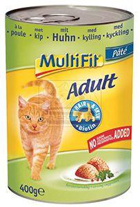 MultiFit csirke paté – cicakonzerv 400g
