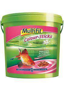 MultiFit színfokozó pálcikás haleledel 10L