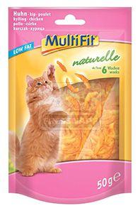 MultiFit naturelle cicasnack csirke 6hét 50g