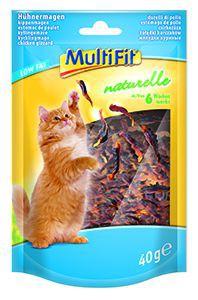 MultiFit naturelle cicasnack csirkezúza 6 hét+ 40g