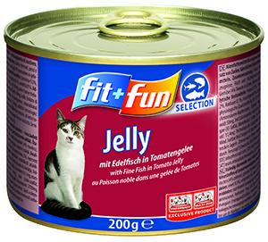fit+fun cicakonzerv - fehérhúsú hallal 200g