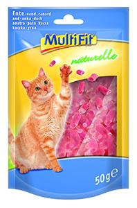 MultiFit naturelle cicasnack kacsa 50g