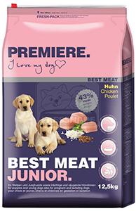 PREMIERE Best Meat junior kutya szárazeledel csirke 12,5kg