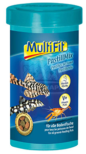 MultiFit haleledel 250ml pasztilla mix