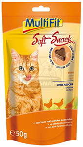 MultiFit Soft cicasnack, csirke 50g