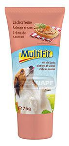 MultiFit kutyasnack lazackrém 75g