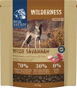 Real Nature Wilderness kutya szárazeledel vaddisznó 1kg