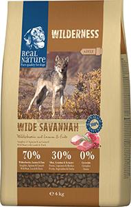 Real Nature Wilderness kutya szárazeledel vaddisznó 4kg