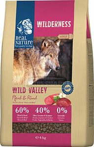 Real Nature Wilderness kutya szárazeledel ló és marha 4kg