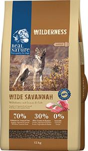 Real Nature Wilderness kutya szárazeledel vaddisznó 12kg