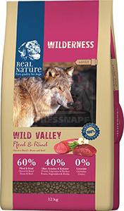 Real Nature Wilderness kutya szárazeledel ló és marha 12kg
