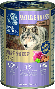 Real Nature Wilderness Pure kutyakonzerv birka 400g
