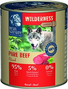 Real Nature Wilderness Pure kutyakonzerv marha 800g