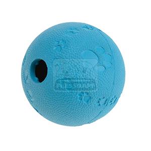 AniOne kutyajáték labda jutalomfalattal tölthető kék 9cm