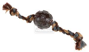 AniOne kutyajáték labda TPR kötéllel 7cm