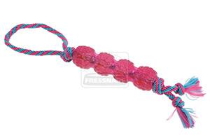 AniOne kutyajáték gumi TPR bot kötéllel 17cm