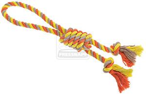 AniOne kutyajáték kötél pamut 1 hurokkal 43cm