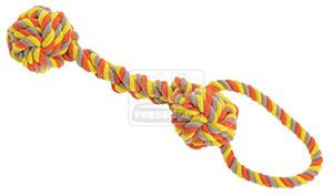 AniOne kutyajáték kötél pamut fogantyúval 43cm