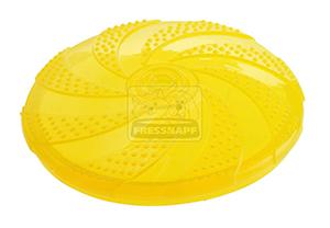 AniOne kutyajáték frizbi TPR citromsárga 18cm