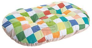 AniOne fekhely színes kockás L 100x70x18cm