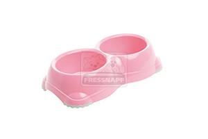 AniOne műanyag tál pink 2x330ml