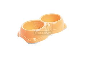 AniOne műanyag tál narancssárga 2x 330ml
