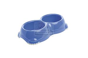 AniOne műanyag tál kék 2x330ml