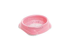 AniOne műanyag tál pink 210ml