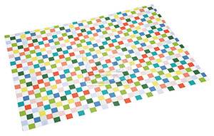 fit+fun takaró színes kockás 70x100cm