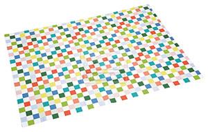 fit+fun takaró színes kockás 100x150cm