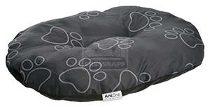 AniOne fekhely fekete tappancs mintával S 60x40x10cm