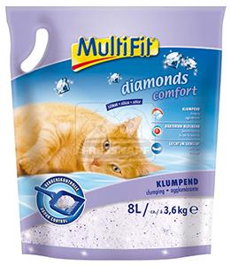 MultiFit alom Diamonds csomósodó 8l