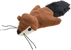 AniOne cicajáték mókus plüss 13cm