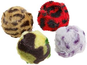 AniOne cicajáték labda csörgő 4db 4,5cm