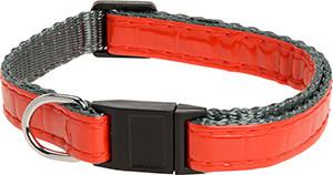 AniOne cica nyakörv fényvisszaverő piros 19-30cm