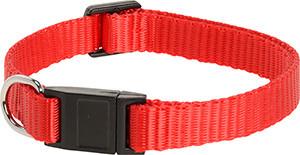 AniOne cica nyakörv nylon piros 19-30cm