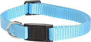 AniOne cica nyakörv nylon kék 19-30cm