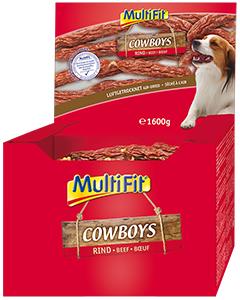 MultiFit Cowboys kolbász, marha 8g/db