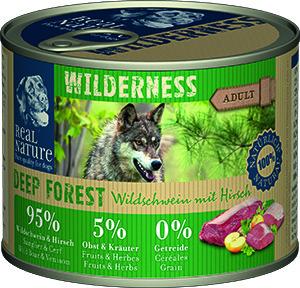 Real Nature Wilderness kutyakonzerv vaddisznó és szarvas 200g