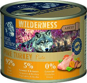 Real Nature Wilderness kutyakonzerv pulyka 200g
