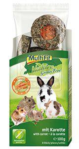 MultiFit nature gabonamentes snack karottával 100 g
