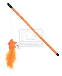 AniOne cicajáték narancssárga toll 40cm