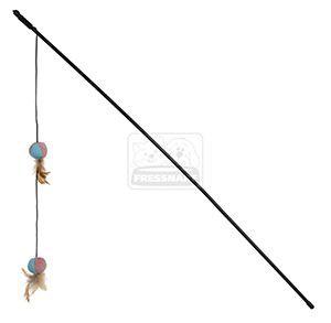 AniOne cicajáték XXL bot labda toll 90cm