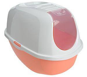 AniOne cica wc SmartCat zárt korall 38x53x41cm