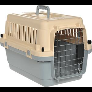 AniOne szállítóbox XS bézs-szürke 51x34x33cm