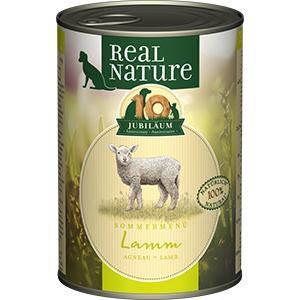 Real Nature konzerv kutyáknak LE bárány 400g