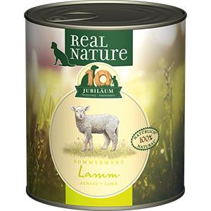 Real Nature konzerv kutyáknak LE bárány 800g