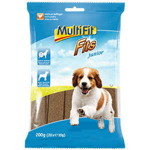 MultiFit Fits Junior kutya snack 200g