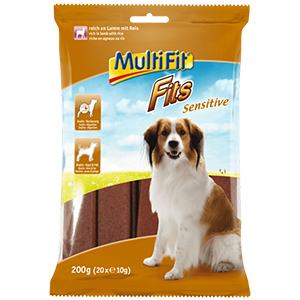 MultiFit Fits Sensitive kutya snack 200g